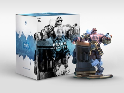 Unlocked Braum Packaging