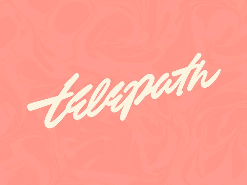 Telepath branding custom type freelance typography type handlettering lettering design logotype logo