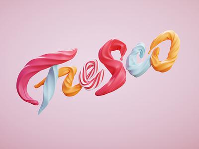 Fresco fresco render octane octanerender blendercycles 3d modeling 3d artist 3d art blender3d cinema4d c4d typography handlettering illustration 3d logo lettering