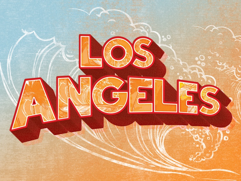 Los Angeles By Alexander Tek For Easy Riders On Dribbble,Clash Of Clans Builder Hall 4 Base Design