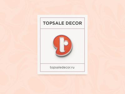 Topsale decor pin