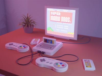 My Game Console ;) Nintendo Super Famicom