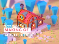 Barrel House Timelapse Tutorial