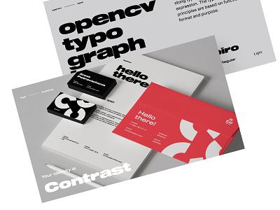 Opencv identity +Animated Logo breezy opencv branding identity