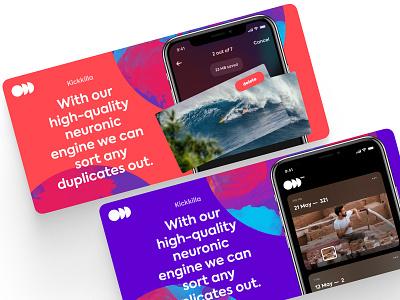 App Branding branding ui ux design breezy app