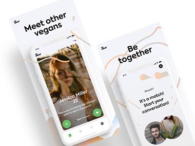 Ve.meet App Screenshots screens screenshot appstore branding ios breezy app