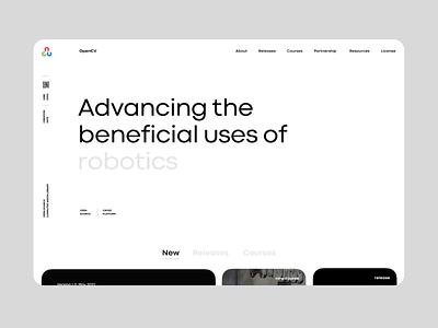 OpenCV new Site and Illustrations illustration website web design branding breezy