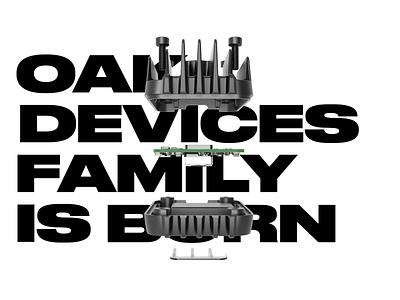 OAK - EMBEDDED AI FAMILY keyshot render breezy