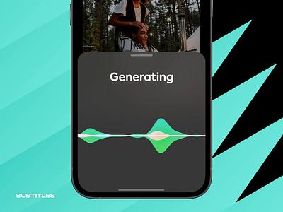 iOS styled subtitles generator ios breezy app