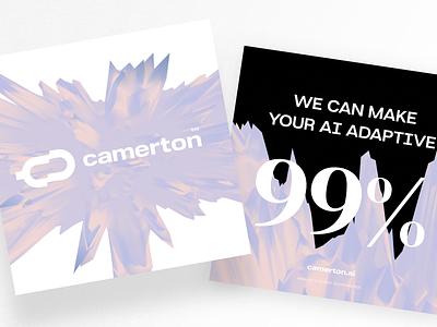 Camerton Visuals branding breezy