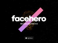 Facehero for Behance