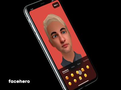 FaceHero 2 Fluid UI