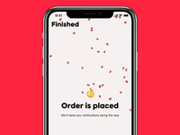 Foodgrab Order animation