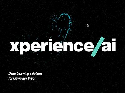 xperience.ai particles branding logo breezy