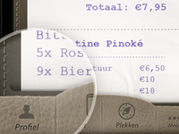 Dribbble ticket