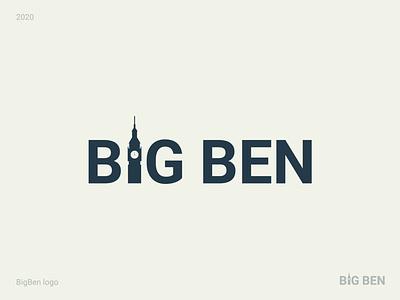 BigBen logo design logotype logodesign branding illustration logo illustrator icon vector flat design minimal