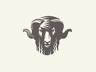 Bāxa sheep ram adobe illustrator vector illustration graphic design logo design longhorn sheep