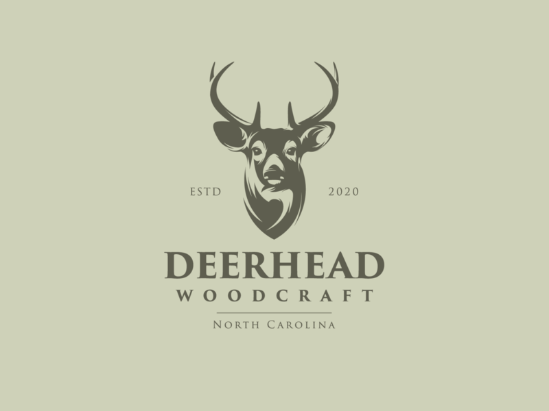 deerhead deer illustration deer head deer logo deer adobe illustrator for sale illustration graphic design logo design deerhead
