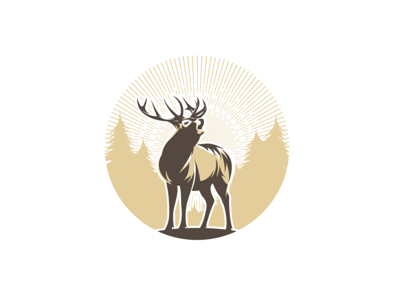 deer vector adobe illustrator illustration for sale logo design deer illustration deer logo deer