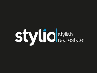 Stylio Stylish Real Estate vector illustration typography logo branding