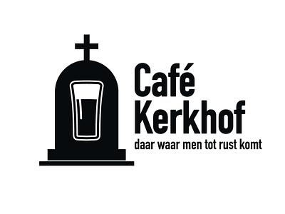 Café Kerkhof logo icon typography logo branding