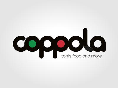 Restaurant Coppola logo vector logo typography branding