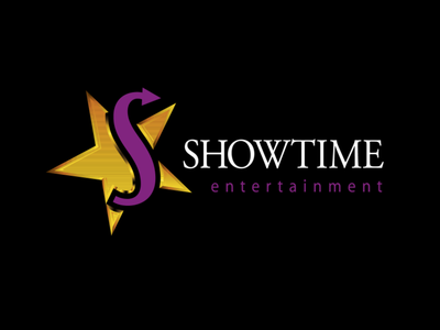 Showtime Entertainment logo vector illustration logo typography branding