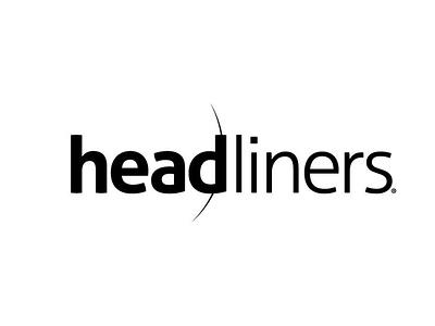 Headliners Hair Salon logo vector icon logo illustration typography branding