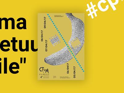 CPM - Inernational Short Film Festival event festival cinema movie film illustration branding poster