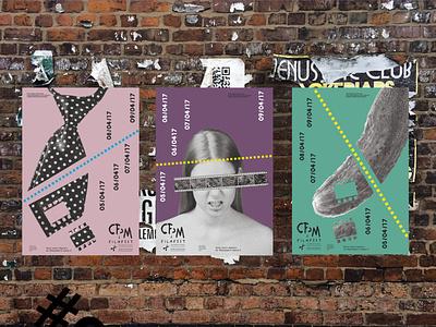 CPM - Inernational Short Film Festival - Posters #2 event festival cinema movie film posters poster branding illustration