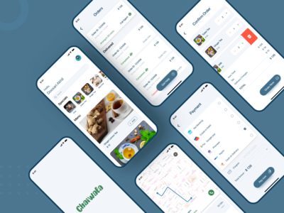 ChaiWala - Delivery App minimal food app delivery app branding app design design uidesign app