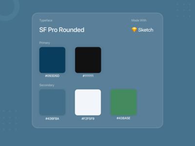 Colour Pallet typogaphy colour palette colors app ui app design