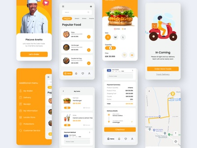 Food App food app food and drink foodapp app design uiapp user interface design modern minimalist user interface userinterface uiux uidesign ui