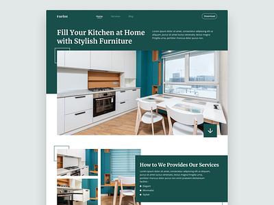 #Exploration - Kitchen Furniture Website furniturewebsite kitchen furniture website webdesign modern minimalist user interface userinterface uiux uidesign ui