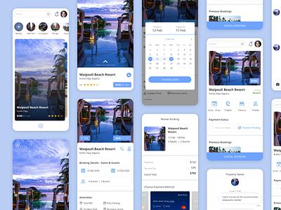 User Interface : Rental Host booking app booking room booking user experience user interface ux ui uitrends uidesign villa resort room rental rent