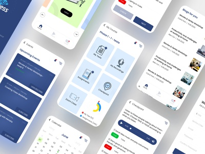 Your Access User Interface logo illustration branding user interface user experience skype teams zoom online class online learning online course design elearning courses elearning app elearning