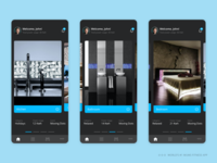 Landing Screen : Smart Control IOT Mobile Application