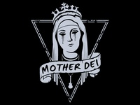 Working on Mother Dei logo.. rock band from bologna!!