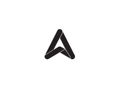 Personal Brand rounded simple feedback arrow brand personal a branding logo