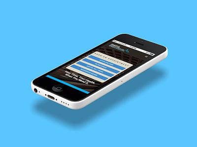 MetroIPC Mobile UI dc illustration brand development design app web design iphone ui ux washington dc physician doctor primary care metroipc