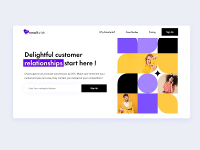 Email wish Chat Module chatting chatbot chat bot chat app chart chat website design web design webdesign web website colored shadow design branding