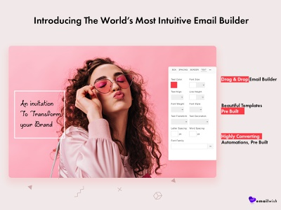 Emailwish Email Builder email marketing email campaign dropship dropshipping store dropshipping branding shopify marketing shopify ecommerce business ecommerce design ecommerce hello dribbble hellodribbble hello dribble hello world hello