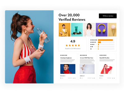 Screenshot for Reviews, Emailwish ecommerce business ecommerce design ecommerce popups popup chatbot chat reviews review abandoned cart dropshipping store dropshipping dropship shopify store shopify plus shopify shopify marketing email marketing email design emailwish