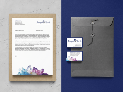 Brand Identity Package - Dragon Perch