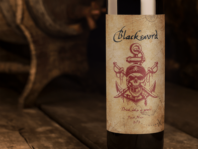 Label Design: Wine Bottle