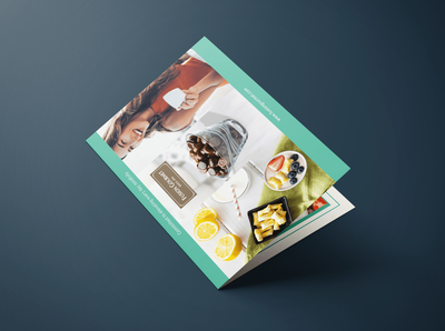 Bi Fold Brochure - Fancy Food Show