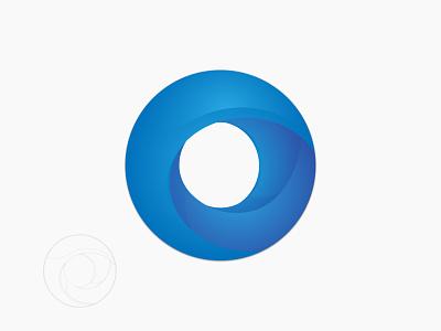 O logo gradient illustration art brand 2020 graphic design logo logo design branding
