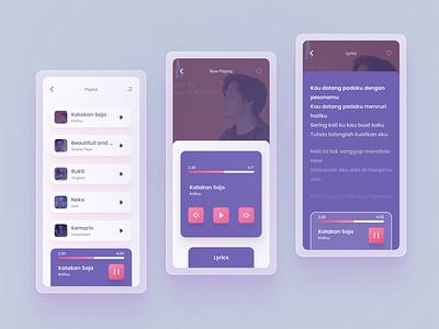 Music Player App - UI Design art music art graphicdesign graphic illusrator 2021 music design app logo branding uiuxdesigner uxdesigner uidesigner uiuxdesign uxdesign uidesign uiux ux ui design