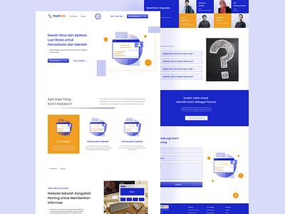 Powercode - Landing Page uiux design 2021 design uxdesign login page landingpage webdesign uidesign layout graphic 2021 ux ui branding design