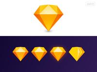 Replicate Sketch New Logo in Sketch 💎